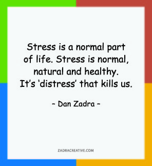 Stress is a normal part of life